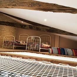 Nachher - Renovierung eines Landhauses mit Installation von 2 rechteckigen Netzen