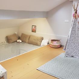 Gestaltung einer Zwischenebene für ein Kinderzimmer