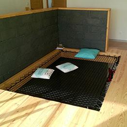 Spielzimmer mit Wohnungsnetz