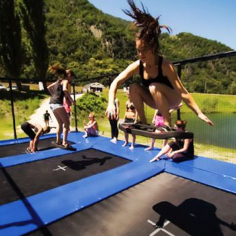 trampoline f r die gewerbliche nutzung trampolin technik. Black Bedroom Furniture Sets. Home Design Ideas